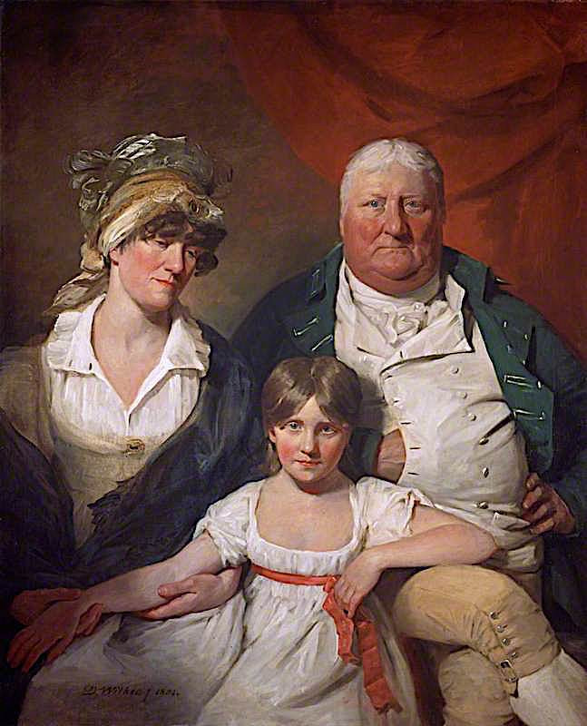 William chalmers bethune his wife isabella morison and their daughter isabella 1804 xx national gallery of scotland edinburgh uk